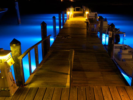 Boat Dock Lights Led Lighting For Marine Docks And Decks