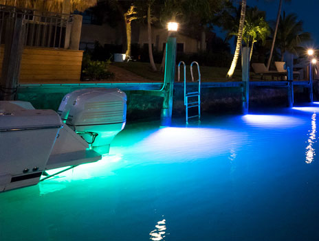 LED Lighting for Boats, Marine Docks, Yachts, and Landscaping